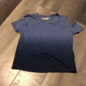 A Hollister off the shoulder Tee
